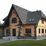 Кирпичные дома с мансардой тонкости постройки.