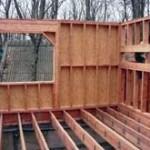 Каркасный деревянный дом своими руками