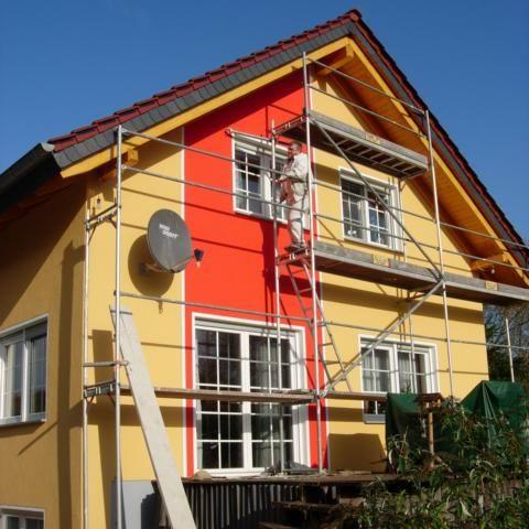фасадная краска для домов и строений