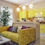 Создаем дизайн интерьера кухни-гостиной
