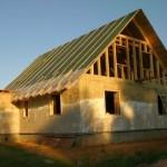 Утепление дома соломой – лучшее экологическое решение