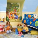 Дизайн интерьера детской комнаты.