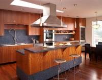 вариант кухни гостиной - кухонный остров