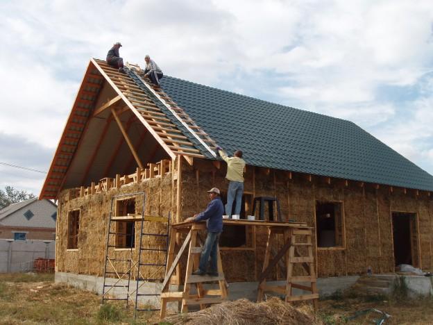 дешёвое строительство дома